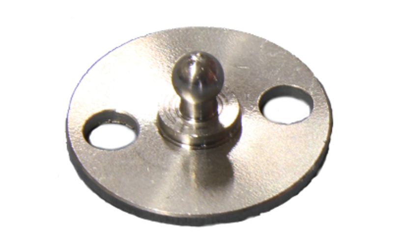 5 x Minax-Schnellverschluß Oberteil Schraube für Stoff-Fest-Verbindung Schwarz